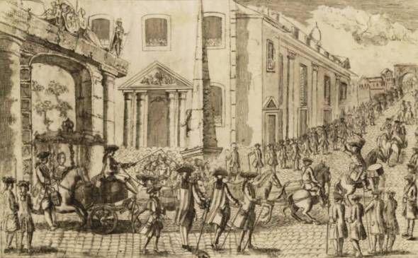Ankunft der Dauphine in Straßburg am 07.05.1770
