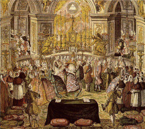 Hochzeit des Thronfolgerpaares am 16.05.1770 in Versailles