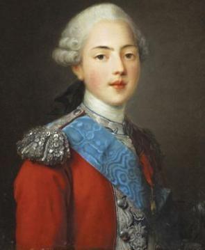 Comte d´Artois (1757-1836); ab 1824 als Charles X. König von Frankreich