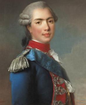 Comte de Provence (1755-1824); ab 1814 als Louis XVIII. König von Frankreich
