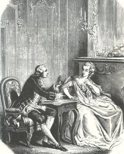 Jeanne de la Motte und der Kardinal de Rohan