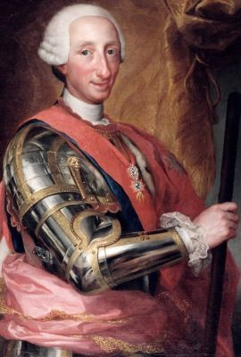 Karl III. von Spanien (1760, Anton Raphael Mengs)
