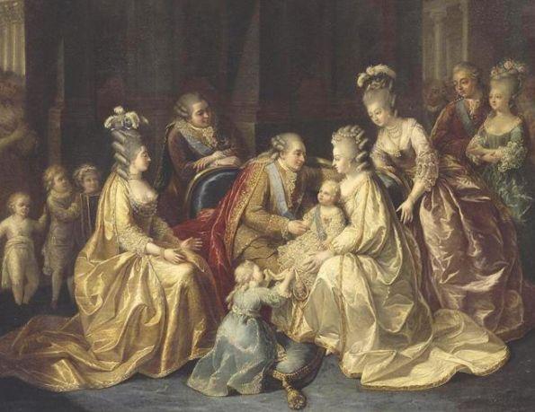 die Königliche Familie (1782, anonym)