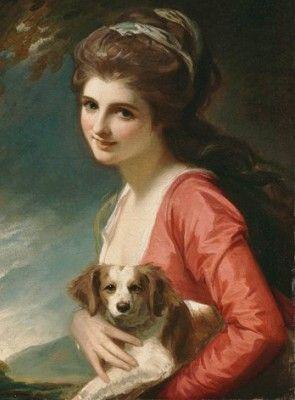Lady Hamilton (1782, George Romney)