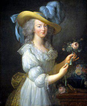 Marie Antoinette (Elisabeth Vigée-Lebrun)