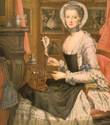 Maria Christina von Österreich (1765, Selbstbildnis der Erzherzogin)