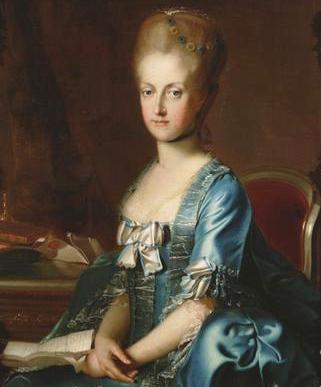 Maria Karolina von Österreich (1768, Johann Georg Weikert)