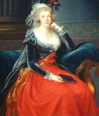 Maria Karolina von Österreich (1791, Elisabeth Vigée-Lebrun)