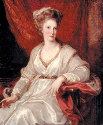 Maria Karolina von Österreich (1782/83, Angelika Kauffmann)