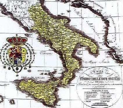 das Königreich beider Sizilien (Neapel-Sizilien)