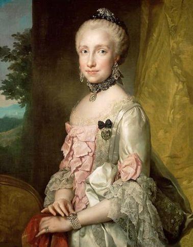 Maria Ludovica (1764/65, Anton Raphael Mengs)
