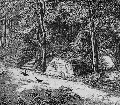Grab der Dunkelgräfin (1850, P. Ahrens)