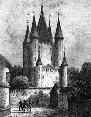 Tempel-Turm mit dem Großen Turm und dem Kleinen Turm
