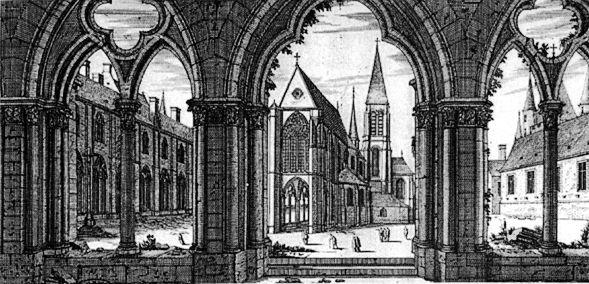 Blick auf die Templerkirche