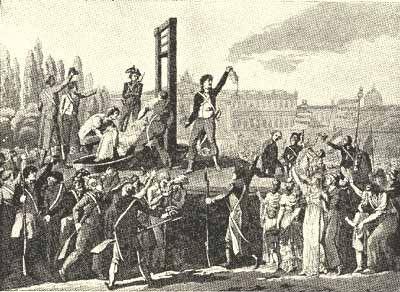 Marie Antoinettes Hinrichtung