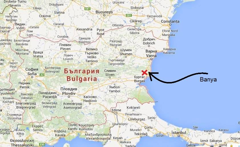 obzor bulgarien karte Obzor Bulgarien Karte | goudenelftal