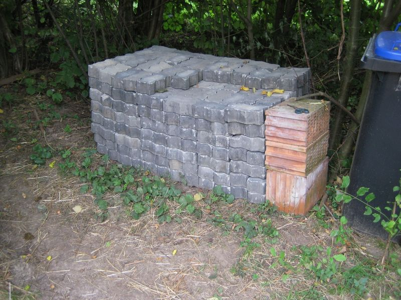 Pflastersteinstapel 2