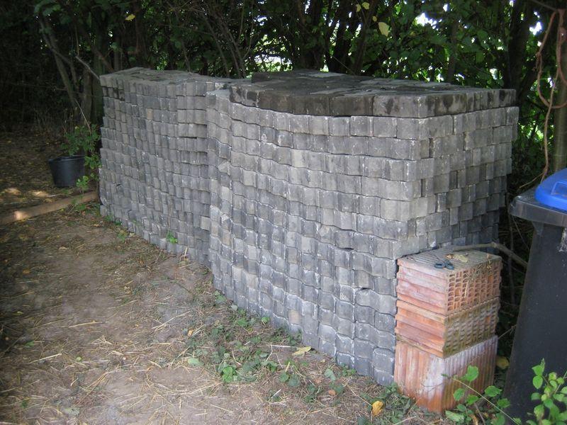 Der erweiterte Pflastersteinstapel Nr. 2