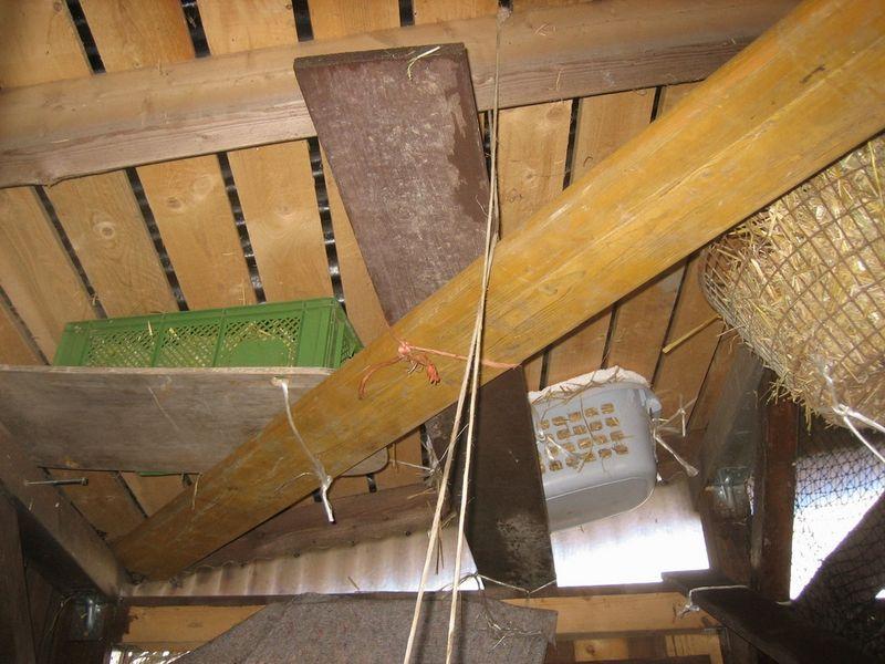 Deckenkörbchen mit Laufstegen