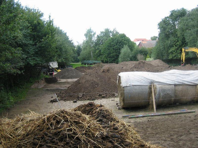 Der alte Paddock (jetzt: Bauland!)