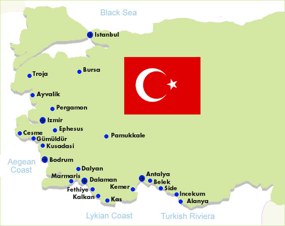 lara türkei karte Lara Strand Türkei Karte   hanzeontwerpfabriek