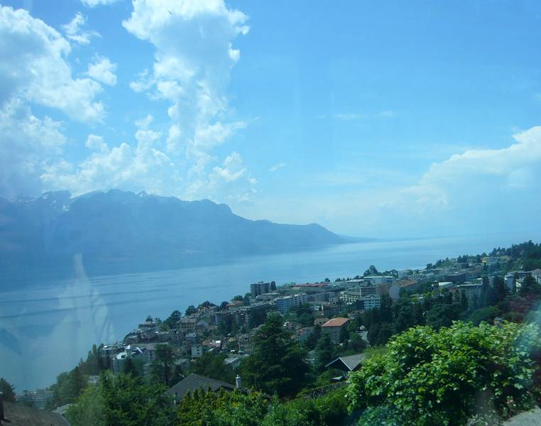 Montreux, am Genfersee