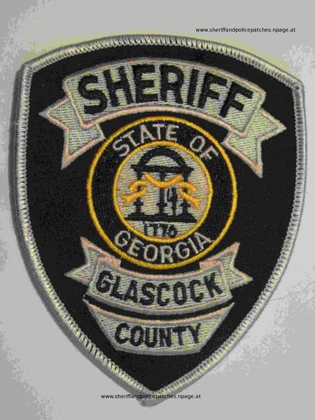 Glascock County Sheriff/'s Office GA Police Dept Patch Georgia