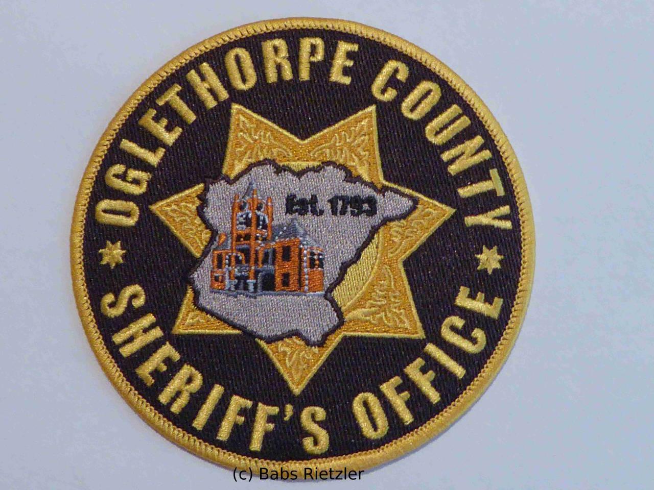 PIERCE COUNTY GEORGIA GA SHERIFF POLICE PATCH