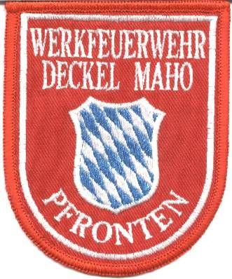 Bernd 39 s homepage for Pfronten deckel maho