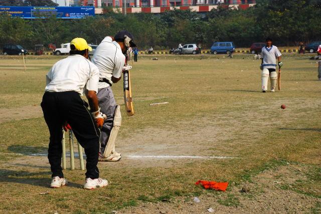 wie spielt man cricket