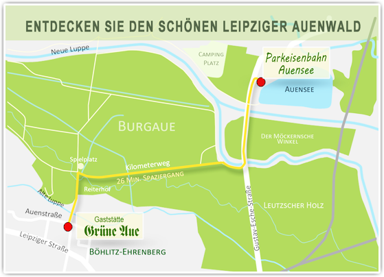 Endecken sie den schönen Leipziger Auenwald
