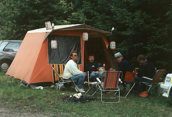 Campingplatz Nürburgring 1989