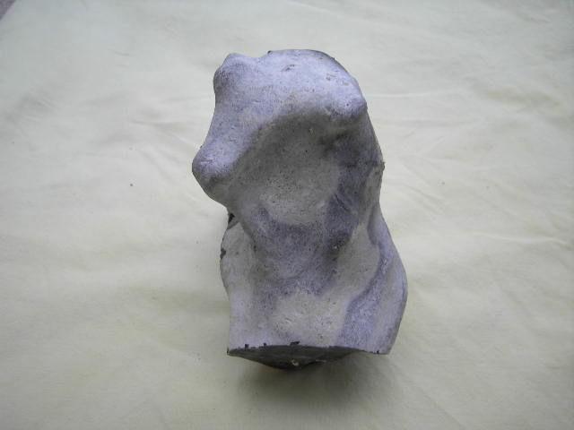 Feuerstein - Skulptur wie die Natur sie schuf