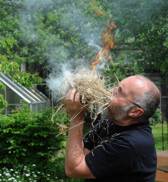 Feuermachen Steinzeit Lehrer und Schulen