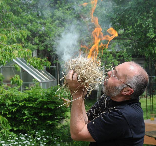 Anleitung zum Feuermachen