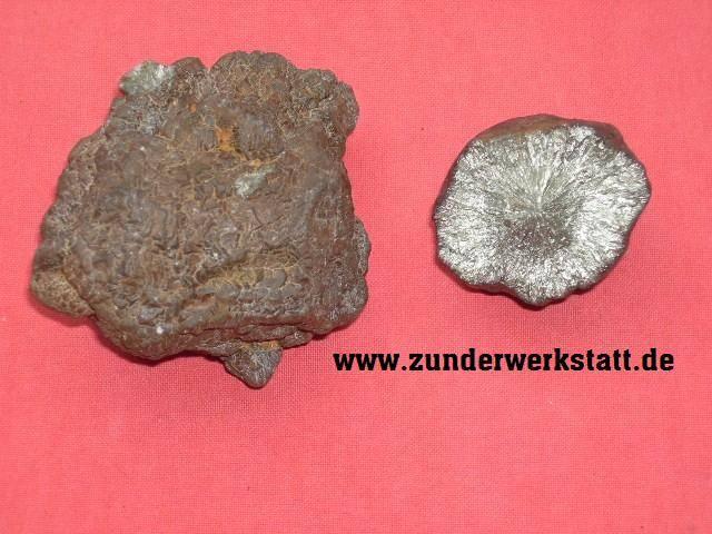 Markasit zum Feuermachen in der Steinzeit