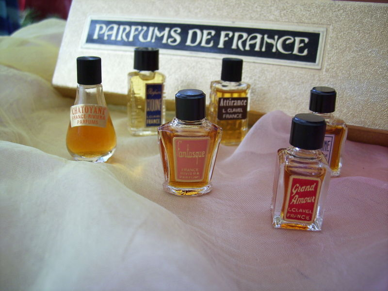 Set Parfums de Franze: Clavel und Riviera