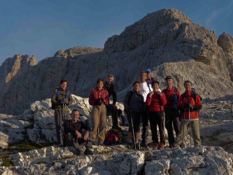 Gruppe Klettersteige