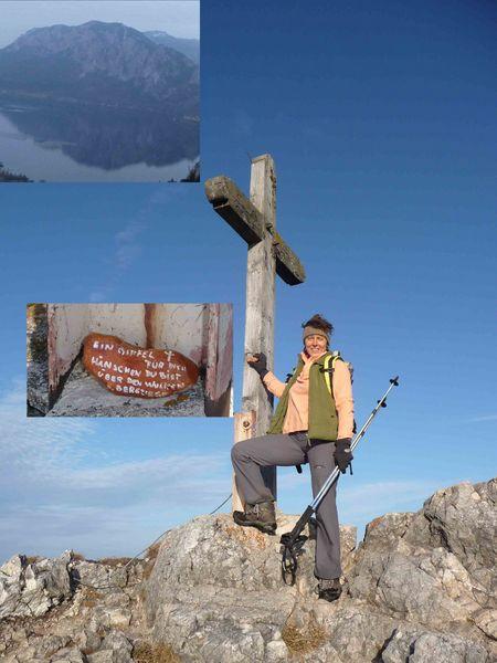 Gipfelkreuz bei der Himmeslpforte