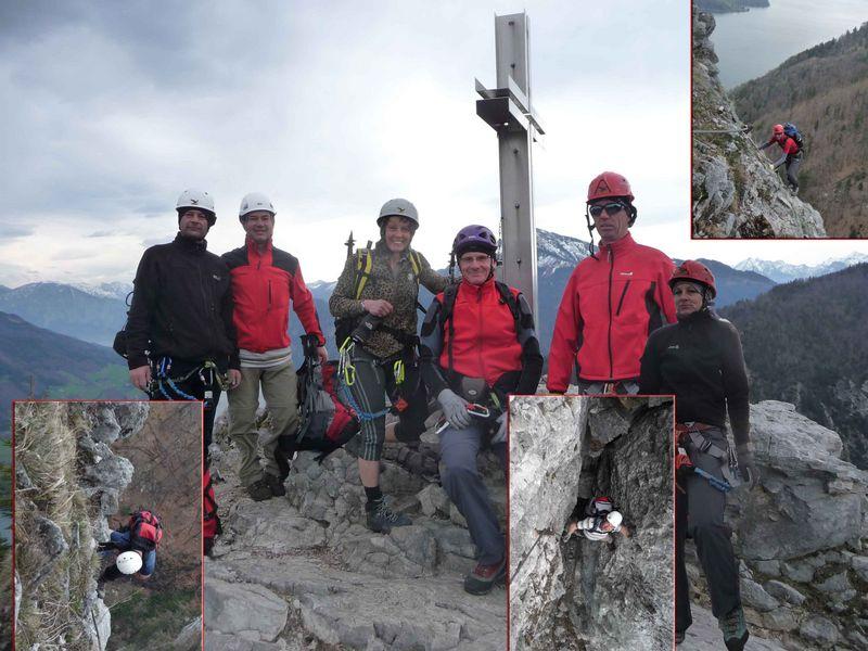 Am Gipfel der Drachenwand