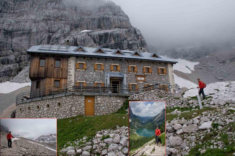 Adamekhuette am Dachstein-Gosaugletscher