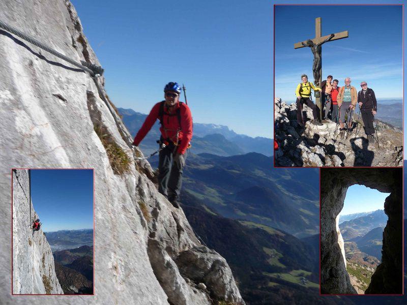 Klettersteig Untersberg