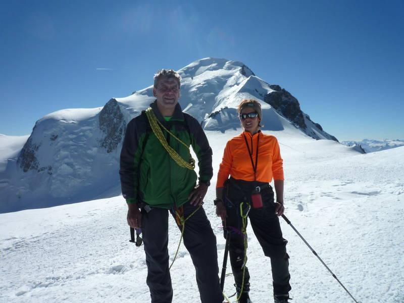 um 8h27 auf den größten - höchsten Gipfel der EU
