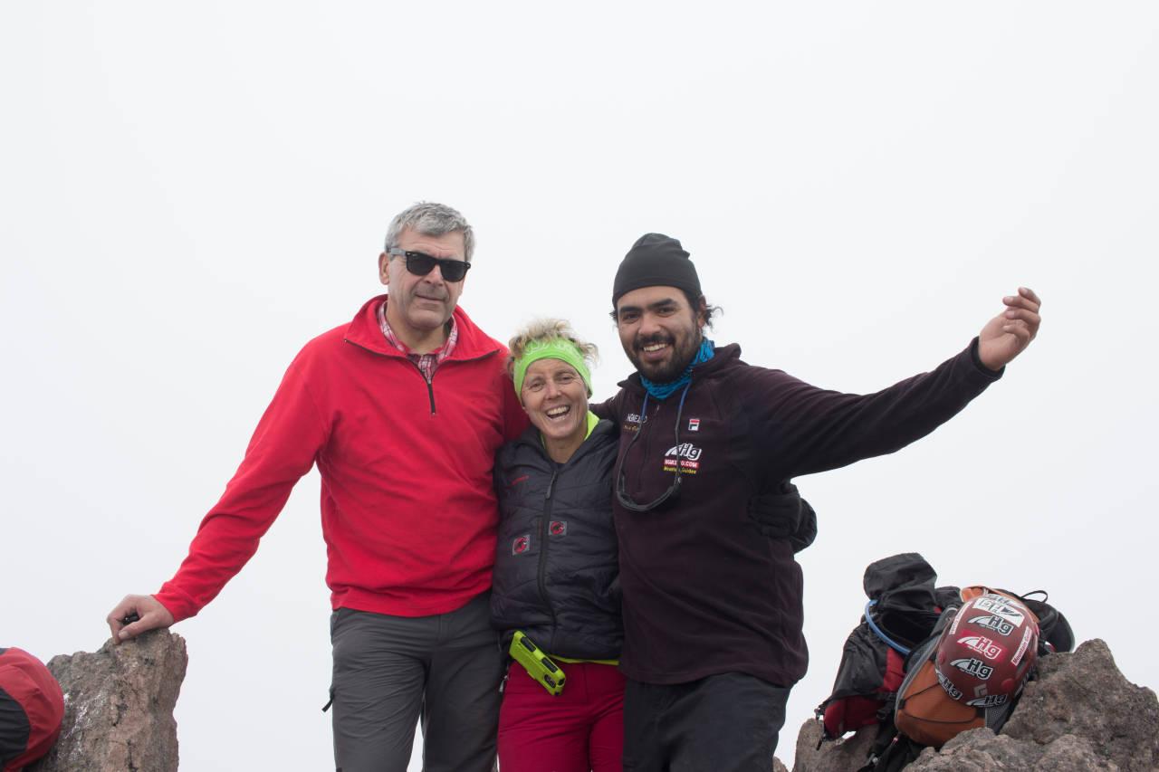 Nevado de Tolöuka 4680m