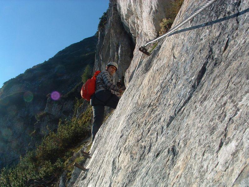 Klettersteig Arco Gardasee