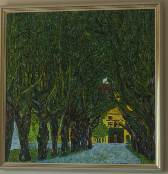 Schloss Kammer gemalt in Acryl für eine besondere Freundin