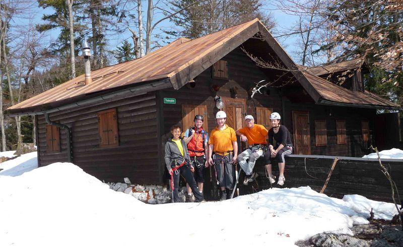 Hütte am Plombergstein