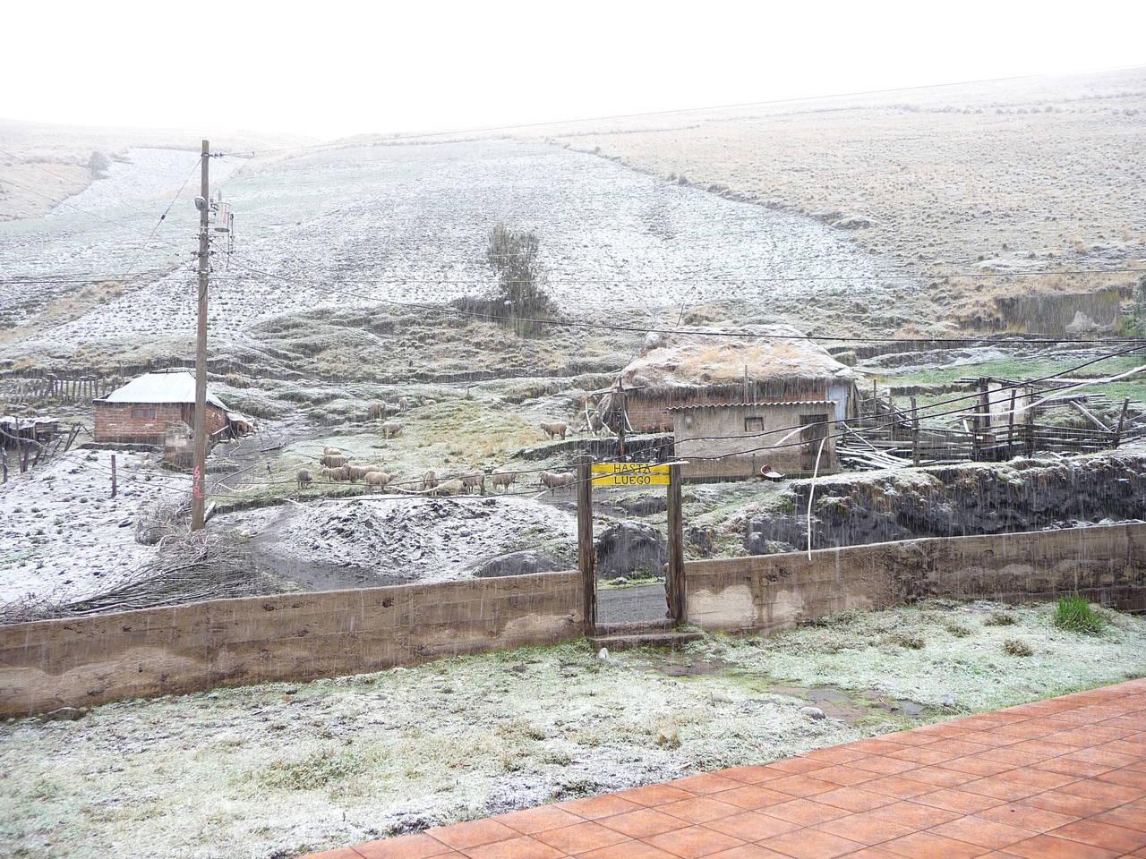 Casa Condores, Ausgangspunkt für den Chimborazo