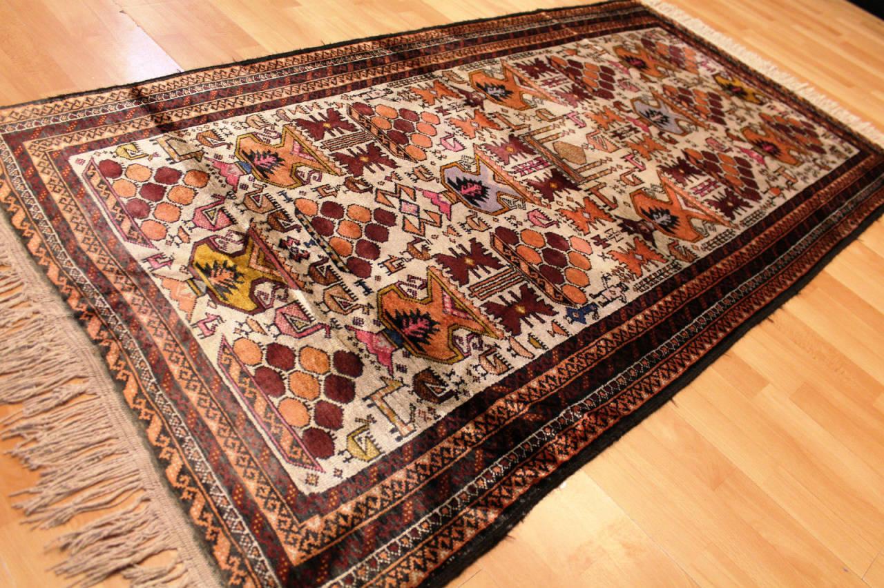 authentique tapis ancien persan surface en 100 soie 195x100cm d 39 un ch teau bx ebay. Black Bedroom Furniture Sets. Home Design Ideas