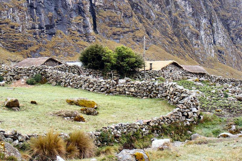 Kleiner Weiler am Camino Chorro